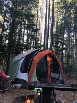 Camping at Fish Creek